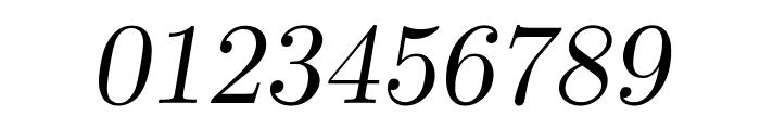 CMU Serif Extra RomanSlanted Font OTHER CHARS
