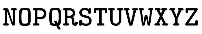 CMU Typewriter Text Bold Font UPPERCASE