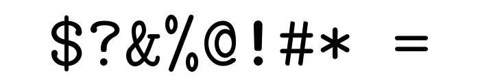 CMU Typewriter Text Regular Font OTHER CHARS