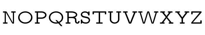 CMU Typewriter Text Variable Width Medium Font UPPERCASE