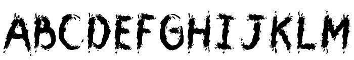 CMYouGotMeWet Font UPPERCASE