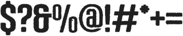 CONFESSION serif ttf (400) Font OTHER CHARS