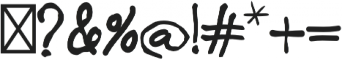 CORALIA otf (400) Font OTHER CHARS