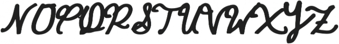 CORALIA otf (400) Font UPPERCASE