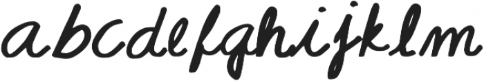CORALIA otf (400) Font LOWERCASE