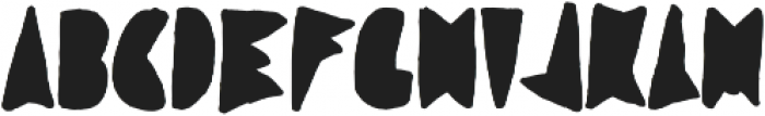 Coal Soul Filled otf (400) Font UPPERCASE