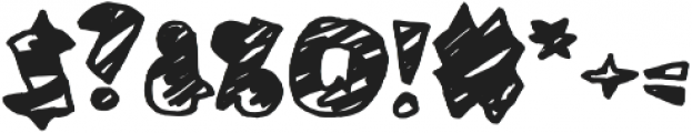 Coal Soul Scratched otf (400) Font OTHER CHARS