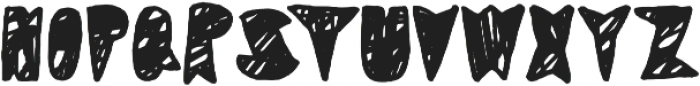 Coal Soul Scratched otf (400) Font UPPERCASE