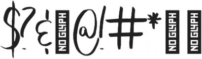 Coates otf (400) Font OTHER CHARS