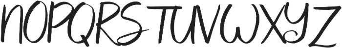 Coates otf (400) Font UPPERCASE