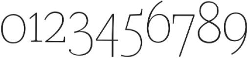 Coats Light otf (300) Font OTHER CHARS