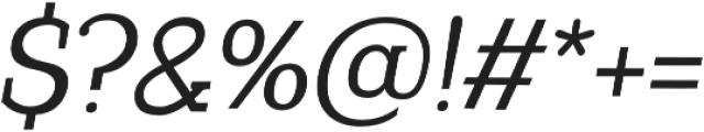 Coats otf (400) Font OTHER CHARS