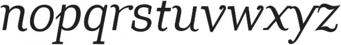 Coats otf (400) Font LOWERCASE