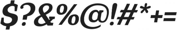 Coats otf (700) Font OTHER CHARS