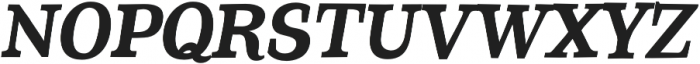 Coats otf (700) Font UPPERCASE