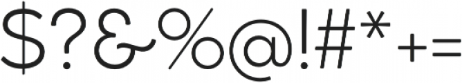Cocogoose Classic Light otf (300) Font OTHER CHARS