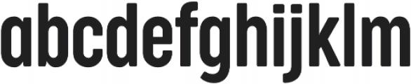 Cocogoose Compressed Semilight otf (300) Font LOWERCASE