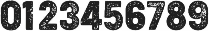 Cocogoose Condensed Letterpress otf (400) Font OTHER CHARS