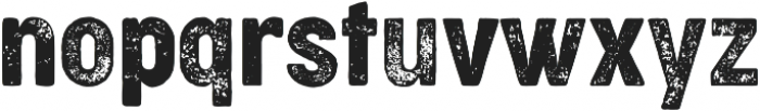 Cocogoose Condensed Letterpress otf (400) Font LOWERCASE
