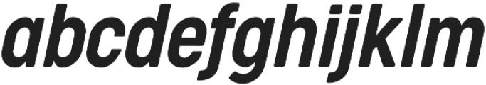 Cocogoose Condensed Semilight Italic otf (300) Font LOWERCASE
