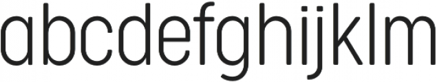 Cocogoose Condensed UltraLight otf (300) Font LOWERCASE