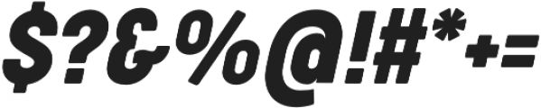 Cocogoose Condensed otf (400) Font OTHER CHARS