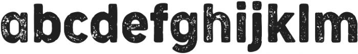 Cocogoose Narrow Letterpress otf (400) Font LOWERCASE