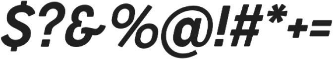 Cocogoose Narrow Semilight Italic otf (300) Font OTHER CHARS