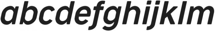 Cocogoose Narrow Semilight Italic otf (300) Font LOWERCASE