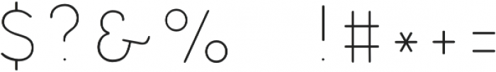 Cocogoose Pro Block Block Innerline otf (400) Font OTHER CHARS