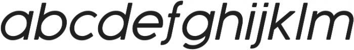 Cocogoose Pro Light Italic otf (300) Font LOWERCASE