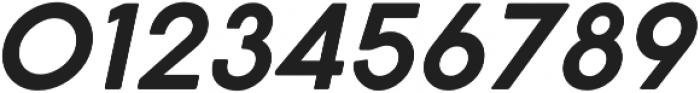 Cocogoose Pro SemiLight Italic otf (300) Font OTHER CHARS