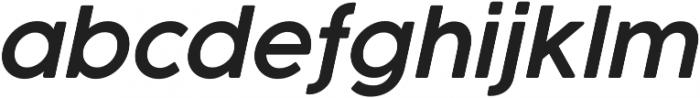 Cocogoose Pro SemiLight Italic otf (300) Font LOWERCASE