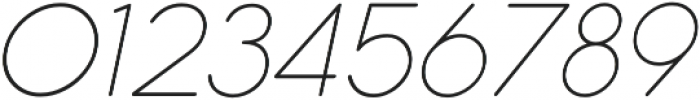 Cocogoose Pro Thin Italic otf (100) Font OTHER CHARS