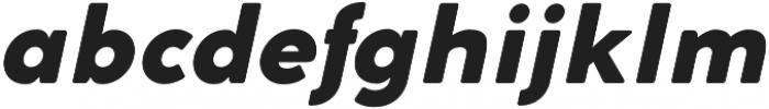 Cocomat Heavy Italic otf (800) Font LOWERCASE