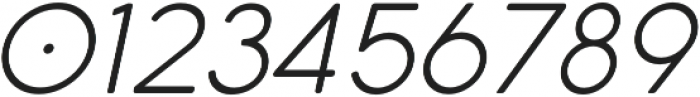 Cocomat Light Italic otf (300) Font OTHER CHARS