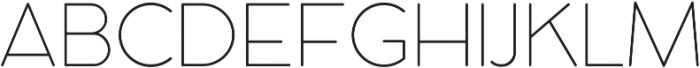 Cocomat UltraLight otf (300) Font UPPERCASE