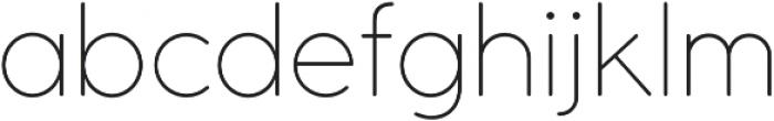 Cocomat UltraLight otf (300) Font LOWERCASE