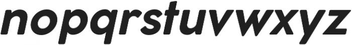 Cocomat ttf (700) Font LOWERCASE
