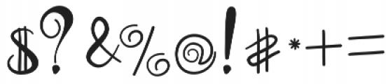 Coconut Font Regular otf (400) Font OTHER CHARS
