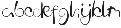 Coconut Font Regular otf (400) Font LOWERCASE