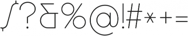 Cocosignum Maiuscoletto Ultralight otf (300) Font OTHER CHARS