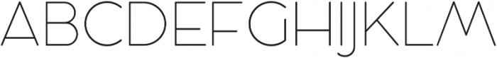Cocosignum Maiuscoletto Ultralight otf (300) Font UPPERCASE