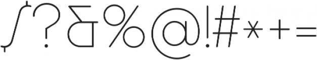 Cocosignum Maiuscoletto Ultralight ttf (300) Font OTHER CHARS