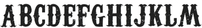 Coddiwomple Distress otf (400) Font LOWERCASE