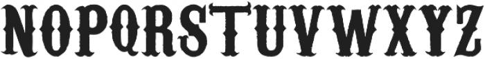 Coddiwomple Regular otf (400) Font UPPERCASE