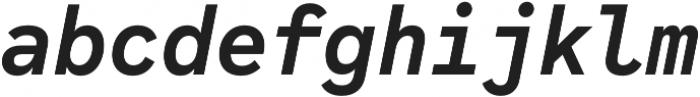 Code Saver otf (700) Font LOWERCASE