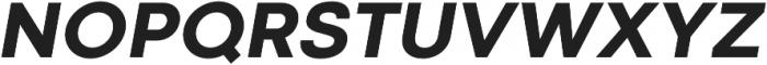 Codec Cold Extra Bold Italic otf (700) Font UPPERCASE