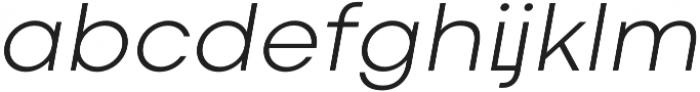 Codec Cold Light Italic otf (300) Font LOWERCASE