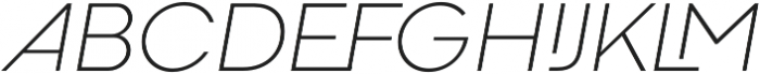 Codec Cold Logo Light Italic otf (300) Font UPPERCASE